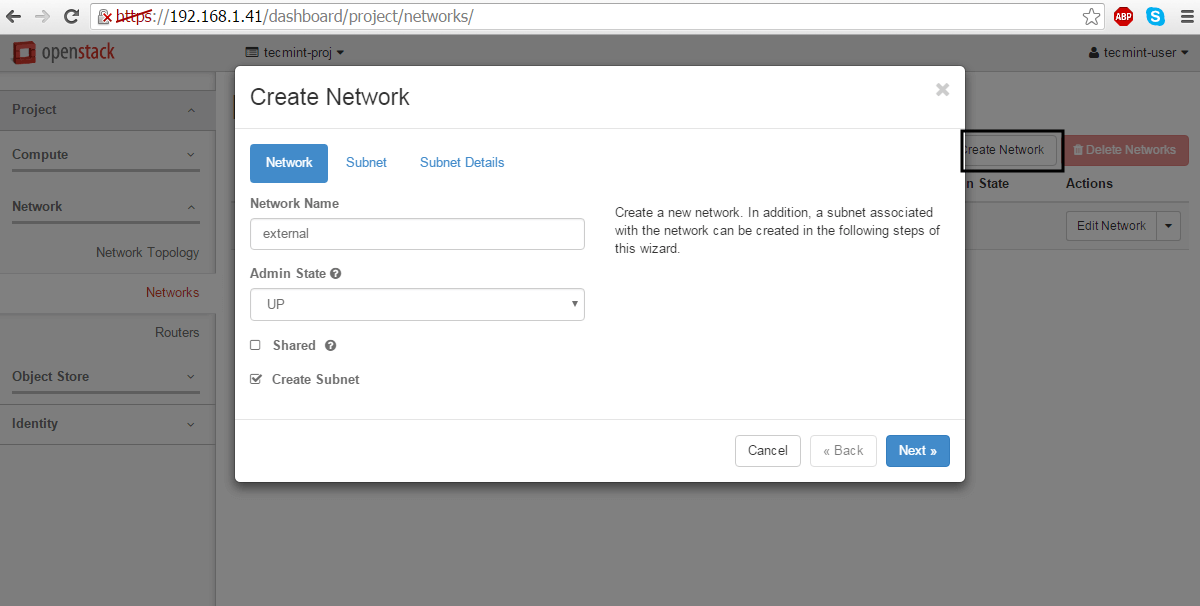 Create-External-Network-For-Openstack