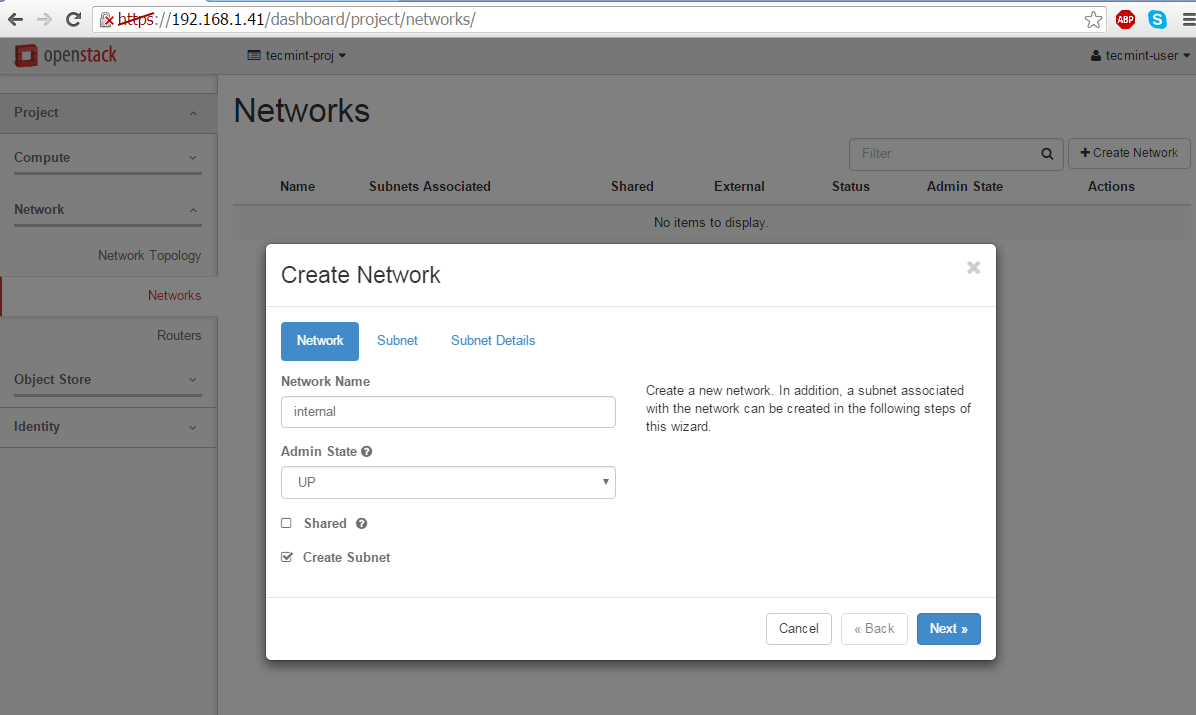 Create-Network-For-Openstack