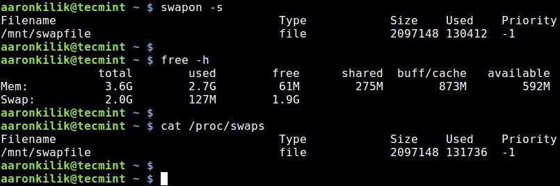 How To Create a Linux Swap File 1