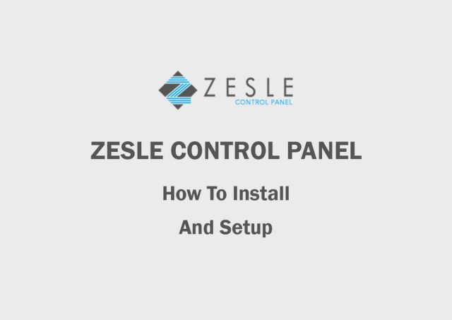 How to Install Open Source Hosting Control Panel (ZesleCP